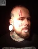 Fousage - skarifikace,cutting - archcore face