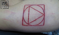 Fousage - skarifikace,cutting - geometry